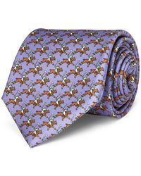 Polo Ralph Lauren - Polo Player Silk Narrow Tie - Lyst