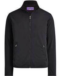 Ralph Lauren Purple Label - Rlx Paneled Jacket - Lyst
