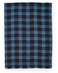 Polo Ralph Lauren - Lightweight Flannel Scarf - Lyst