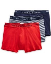 Polo Ralph Lauren - Stretch Cotton Trunk 3-pack - Lyst