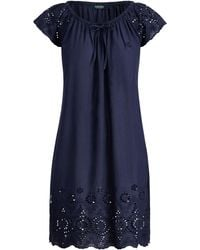 Ralph Lauren - Eyelet Cotton Nightgown - Lyst