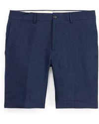 Ralph Lauren Purple Label - Straight Fit Linen Short - Lyst