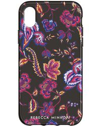 Rebecca Minkoff - Hypnotic Floral Case For Iphone Xs & Iphone X - Lyst