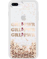 Rebecca Minkoff - Grl Pwr Glitterfall Case For Iphone 8 Plus & Iphone 7 Plus - Lyst