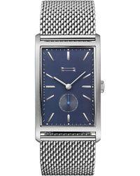 Rebecca Minkoff - Pesaro Silver Tone Mesh Bracelet Watch, 27mm X 45.5mm - Lyst