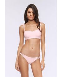 Rebecca Minkoff - Brooklyn Bandeau Swim Top - Lyst