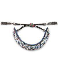 """Rebecca Minkoff - """"superwomen"""" Seed Bead Friendship Bracelet - Lyst"""