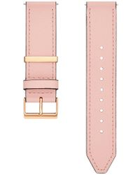 Rebecca Minkoff - Major Interchangeable Blush Leather Strap - Lyst