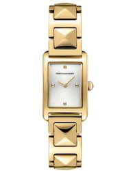 Rebecca Minkoff - Moment Gold Tone Bracelet Watch, 19mm X 30mm - Lyst