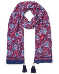 Rebecca Minkoff - Persian Rose Oblong Scarf - Lyst
