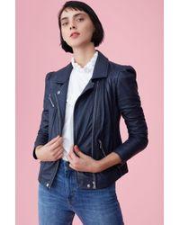 Rebecca Taylor - Leather Biker Jacket - Lyst