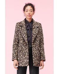 Rebecca Taylor - Leopard Coat - Lyst