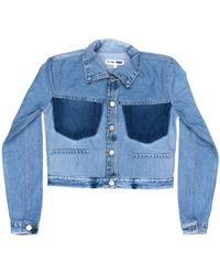 RE/DONE - Reconstructed Jean Jacket - Lyst