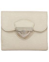 Louis Vuitton - Pre-owned Epi Leather Short Wallet - Lyst