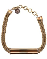 Lanvin - Necklace With Application - Lyst