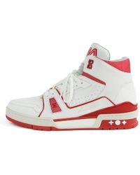 d8535524346e Louis Vuitton - 19stainless Steel Lv Trainer Line High Cut Shoes Shoes   1  A 54