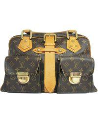 Louis Vuitton | Monogram Manhattan Gm Hand Bag M40025 | Lyst