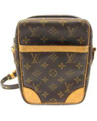 e89c7b4c7 Louis Vuitton - Auth Danube Shoulder Crossbody Bag M45266 Monogram Brown  Used - Lyst