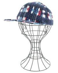 Chanel - Cap Blue - Lyst