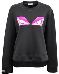 Fendi - Angry Eyes Sweatshirt - Lyst