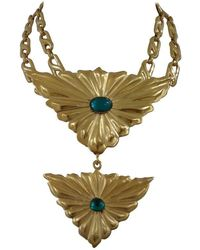 Emilio Pucci - 1980s Gold Tone Necklace Nwot - Lyst