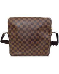 36db2f78cf15 Louis Vuitton - Damier Naviglio Shoulder Bag 5g280890  - Lyst