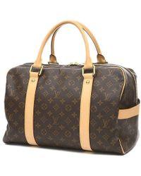 Louis Vuitton | Monogram Carry All-boston Bag M40074 Luggage | Lyst