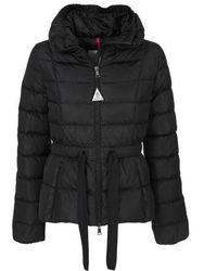 Moncler - Black Short Coat - Lyst