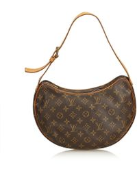 Louis Vuitton - Monogram Croissant Mm - Lyst
