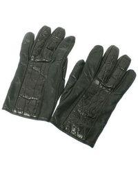 Giorgio Armani - Gloves Black L - Lyst