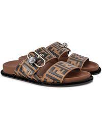 Fendi - Flat Sandals - Lyst