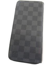 Louis Vuitton - Damier Canvas Purse (with Coin Purse) N62240 Zippy Wallet Vertical - Lyst