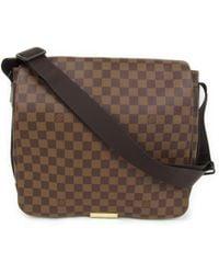 7b4adfb5a200 Louis Vuitton - Bastille Crossbody Shoulder Bag Damier Brown N45258 - Lyst