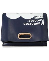 Sacai - Manhattan Records Bag Clutch - Lyst