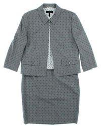 ESCADA - Dresses Grey 44/42 - Lyst