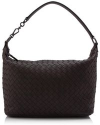 Bottega Veneta - Intrecciato Nappa Brunito Loop Handle Bag - Lyst 084c136036fca