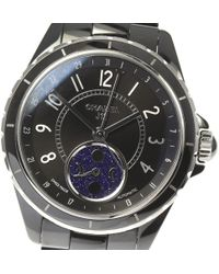 Chanel - J12 Fasudurune H3406 Crocella Automatic Winding Moon Phase Mens [used]【180114】 - Lyst