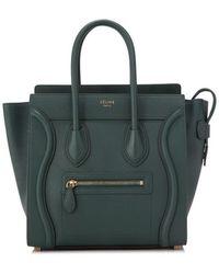 Céline - Céline Micro Luggage - Lyst