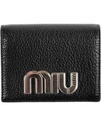 Miu Miu - Madras Miu Wallet - Lyst