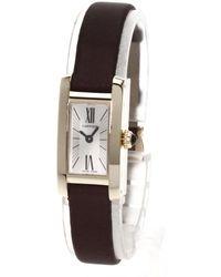 Cartier | Tank Allongee Watches 18k Pink Gold/satin Women | Lyst