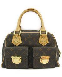 Louis Vuitton | Manhattan Pm Handbag M40026 Monogram Brown | Lyst