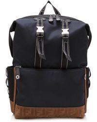 Fendi - Santander Nylon Backpack - Lyst