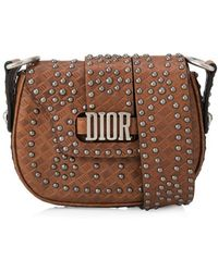 Dior - Christian D-fence Small Saddle Bag - Lyst