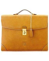 Loewe   Business Bag Mens Used Y1367   Lyst