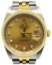 Rolex - Stainless Steel/ 18k Golden Automatic Watch Gold 16233g 9080 - Lyst