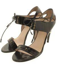 ESCADA - Sandal Black 38 - Lyst