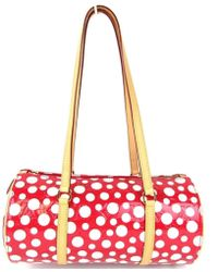 Louis Vuitton - Papillon Shoulder Bag Yayoi Kusama M91425 Dots Infinity Red - Lyst
