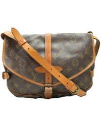 Louis Vuitton | Saumur 30 Crossbody Shoulder Bag Monogram M42256 | Lyst