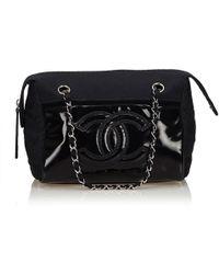 58c7053eddb2 Lyst - Chanel New Travel Chain Flap in Natural