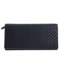 Ermenegildo Zegna Ermenegildo Leather Wallet E1244p Psm Bud